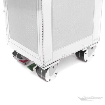 Miniatur Flugzeugtrolley 3D-Metall-Puzzle – Bild 6