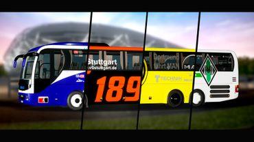 Fernbus Simulator Add-on - Fußball Mannschaftsbus – Bild 2