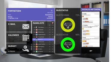 Fernbus Simulator Add-on - Fußball Mannschaftsbus – Bild 3