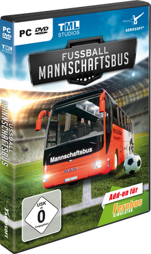 Fernbus Simulator Add-on - Fußball Mannschaftsbus – Bild 1