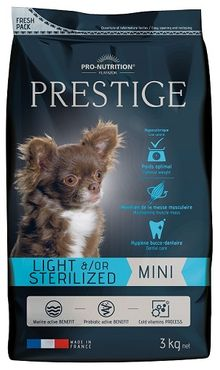 Flatazor Prestige Adult Mini Light &/or Sterilized 3 kg