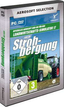 Aerosoft Selection - LS17 Add-on Strohbergung – Bild 1