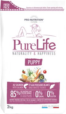 Pure Life Puppy 2 kg  Naturality & Happiness Puppy