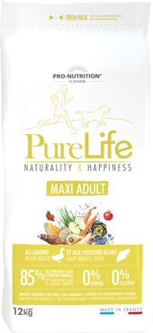 Pure Life  12 kg  Naturality & Happiness MAXI ADULT
