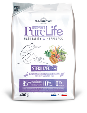 Pure Life Chat Sterilized 8+ 400g