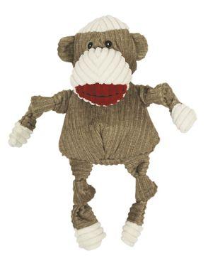 Hugglehounds Sock Monkey Knottie, brown