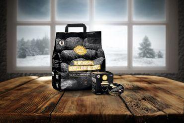 Die Kohle Manufaktur Premium Grillbriketts 5 kg long tasting – Bild 4