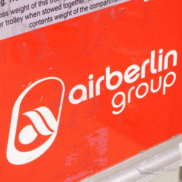 airberlin Flugzeugtrolley gebraucht mit Kunststoff Einschüben – Bild 2