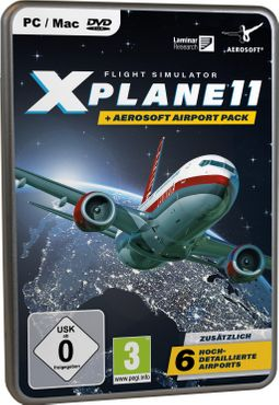 XPlane 11 + Aerosoft Airport Pack (Deutsch)