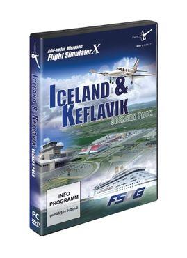 Iceland & Keflavik Scenery Pack FSX – Bild 1