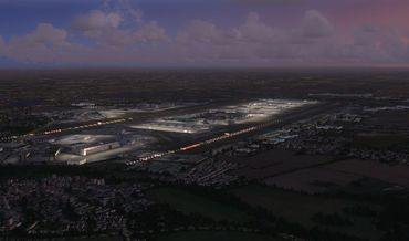 Mega Airport London Heathrow Xtended FSX/FSX:SE/P3D/FS2004 – Bild 3