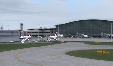 Mega Airport London Heathrow Xtended FSX/FSX:SE/P3D/FS2004 – Bild 22