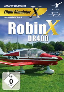 Robin DR400 X FSX/P3D – Bild 1