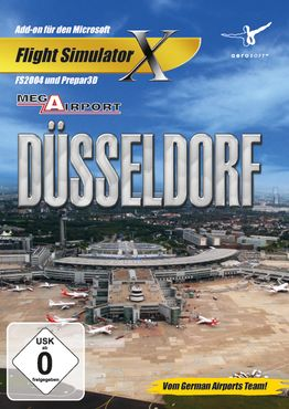 Mega Airport Düsseldorf FSX/P3D/FS2004