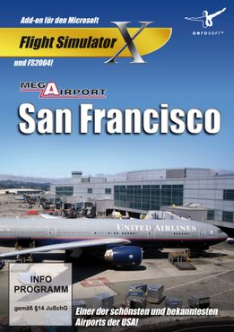 Mega Airport San Francisco FSX/FS2004