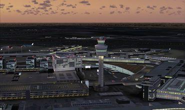 Mega Airport Amsterdam FSX/FS2004 – Bild 10