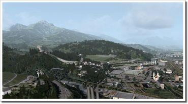 Approaching Innsbruck FSX/FS2004 – Bild 11