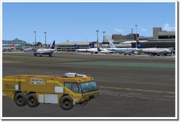 Mega Airport Boston Logan FSX/FS2004 – Bild 6