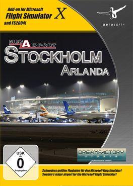 Mega Airport Stockholm Arlanda FSX/FS2004 – Bild 1