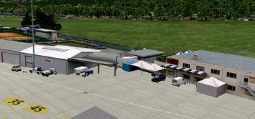 Airport Lugano X-Plane 10 – Bild 2