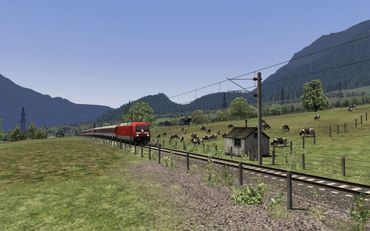 Dreiländereck Route Train Simulator 2019 – Bild 14