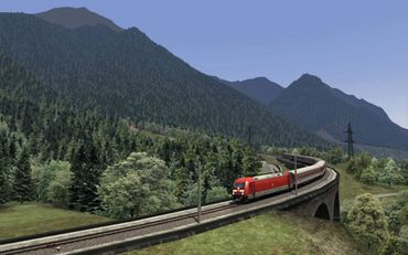 Dreiländereck Route Train Simulator 2019 – Bild 12