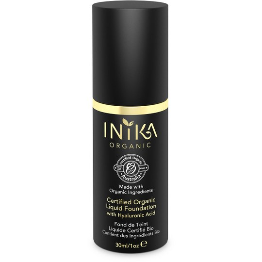 INIKA Certified Organic Liquid Foundation Nude