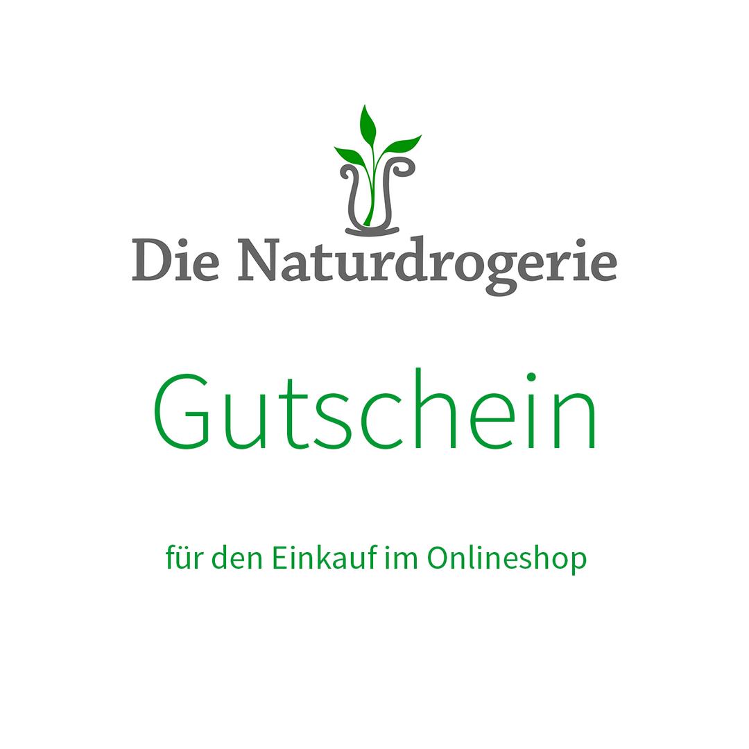 Die Naturdrogerie Einkaufsgutschein im Wert von 50 Euro