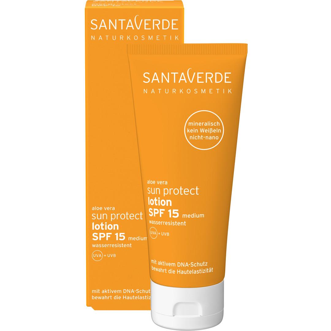 Santaverde sun protect lotion SPF 15