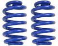 2 Stück Schraubenfedern für Westfalia Anhänger 1000 kg Farbe blau