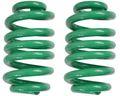 2 pièces - ressorts hélicoïdaux pour remorque Westfalia 1400 kg couleur vert