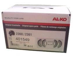 Ensemble de chaussures de frein AL-KO 2360 2361 ALKO Set 230x60