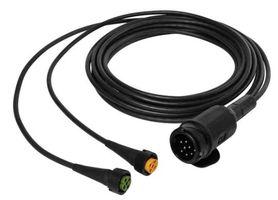 Aspöck câble de remorque 4m - connecteur 13 broches - câblage