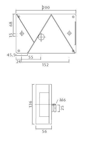 R/ändelmutter M6 Metall Menge:6 ST/ÜCK massiv Stahl br/üniert DIN 467 MENGE w/ählbar