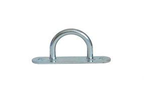 10 pieces - stirrups/ belt cramps - 28x36 mm - tarpaulin hook - galvanised steel