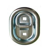 1 Stück - Zurringe Oval 104 x 70 mm - 400 daN - verzinkt - Zurrmulden