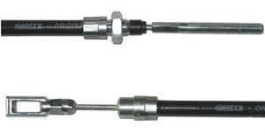 1 x Knott brake cable - HL: 900 mm - GL: 1200 mm - version until ca.1993
