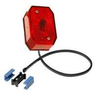 1 x Aspöck Flexipoint 1 rot mit 0,5 m DC-Kabel + DC Verbinder - 31-6509-067