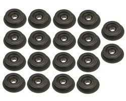 18 x round knob Ø 20/25 mm for 6 - 8 mm rope Expander rope - tarpaulin knob