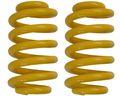 2 Stück Schraubenfedern für Westfalia Anhänger 1200 kg Farbe gelb