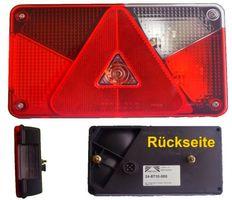 Aspöck Multipoint 5 Leuchte rechts mit Rückfahrscheinwerfer + Bajonettanschluss