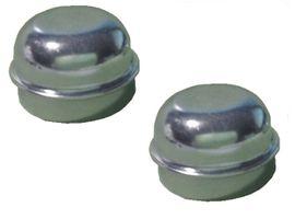 2 x Radkappe - Fettkappe - Staubkappe Ø 50,5 mm neutral