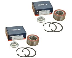 2 x Knott - wheel bearing - set - 47306V - bearing Ø72 / Ø39 x 37 mm