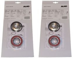 2 x ALKO wheel bearing 1224800 bearing 60/30x37 mm + accessories - Ecolager compact bearing