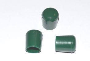 100 Stück - Abschlußkappe für Rundrohr für Rohre / Stäbe Ø 16 mm