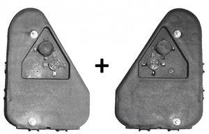 Aspöck Earpoint 3 III lampe gauche 24-4700-007 + droite 24-4800-007