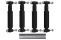 4 x Knott 990022 Amortisseur à essieu avec matériau à vis - amortisseur de remorque