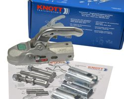 1 x Knott Kugelkupplung K30U Universal 3000 kg Ø 35,40,45 und 50 mm Bohrung 12,5 mm
