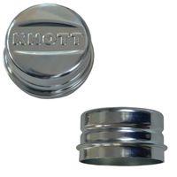 1 x Knott Radkappe - Fettkappe - Staubkappe Ø 52,1 mm - Knott Nr. 47117