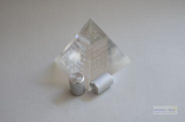 16mm Alu Stab (2 Stk.) als Adapter bzw. Distanzstücke zu HXY , Pila und xTar Ladegeräten